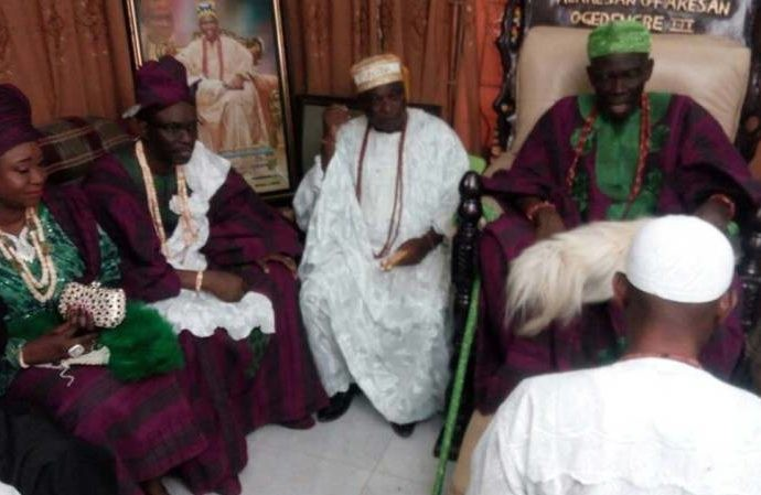 LASU VC makes grand entry into father's palace