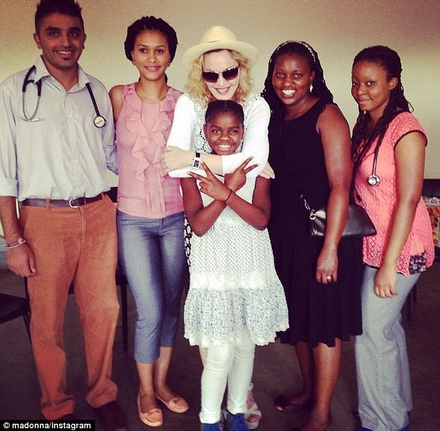 Madonna to Open Malawi Pediatric Surgery Center Named After Daughter Mercy James