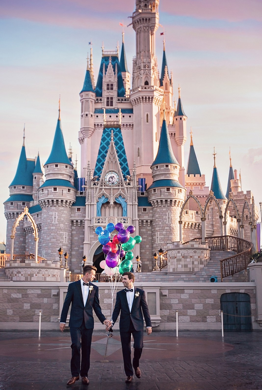 Magical Wedding at Walt Disney World's Most-Loved Locations