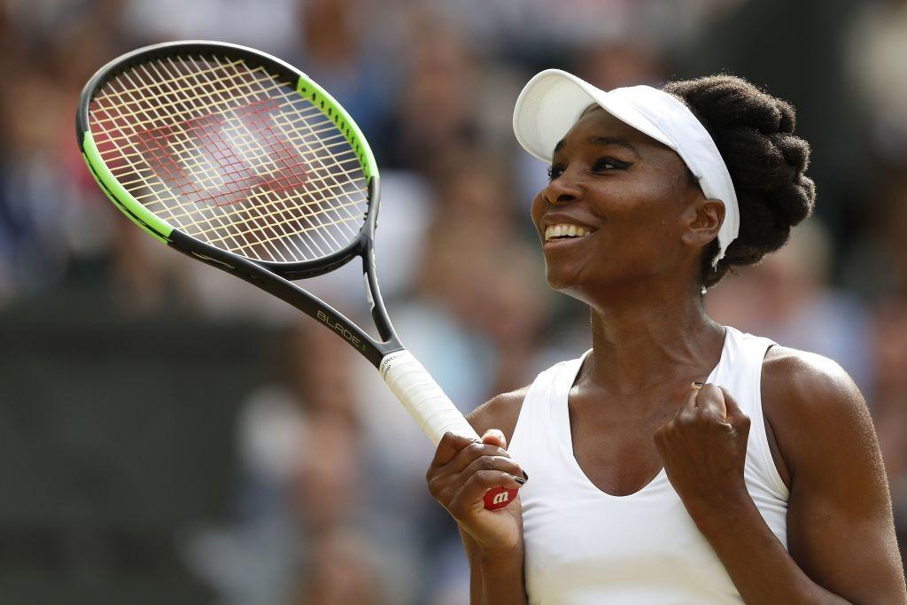 Muguruza, Venus through to Wimbledon final