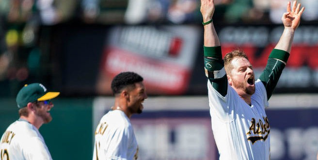 Oakland A's recall Matt Olson and Frankie Montas from Triple-A