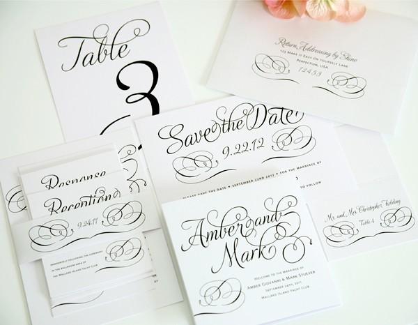 Photo Accessories To Make Your Wedding Invitation Suite Shine