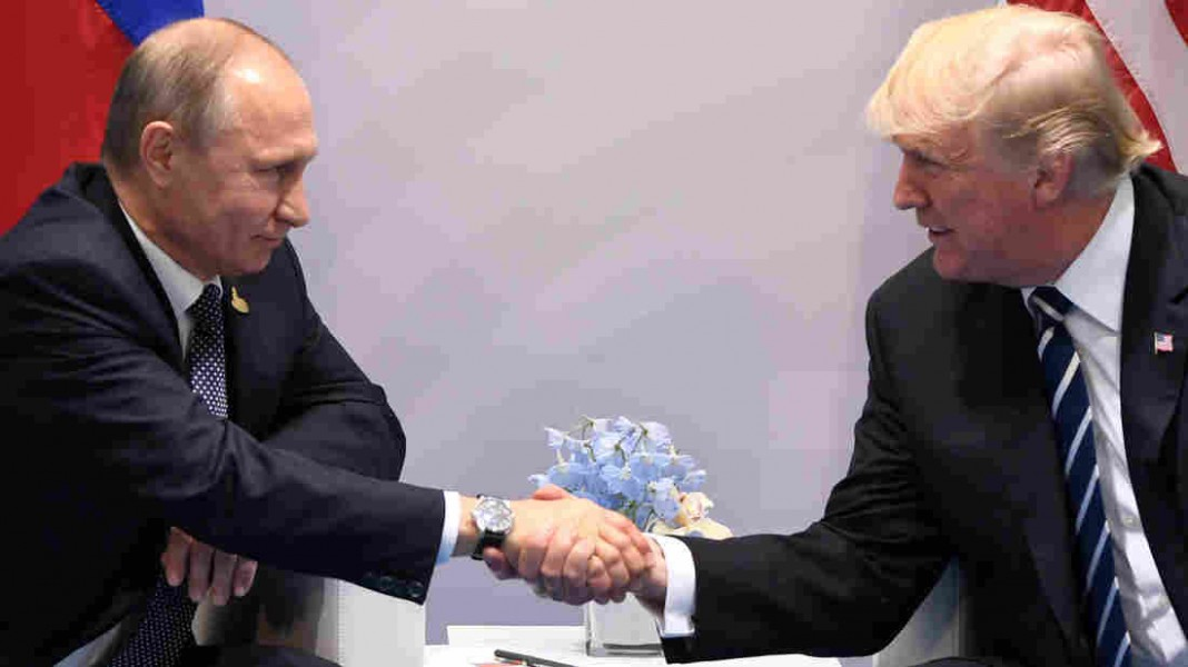 Putin, Trump Meet For First Time At G-20 Summit In Germany