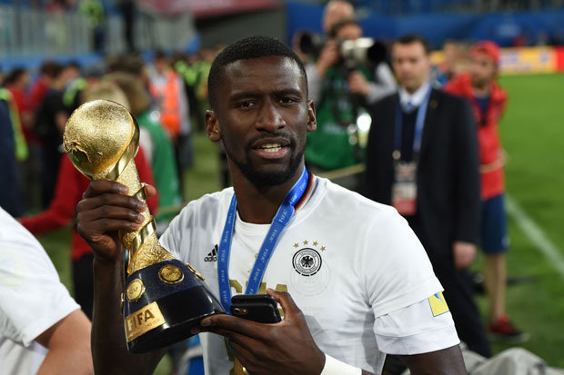 Rudiger completes Chelsea move