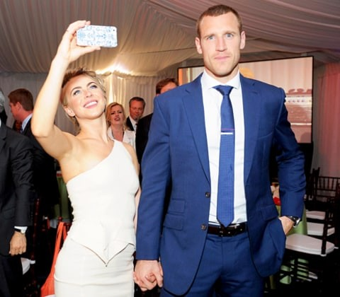 Ryan Seacrest Congratulates Julianne Hough on Her Wedding to Brooks Laich