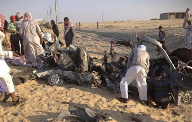 Sinai Attack: Bombs And Militants Kill Or Injure 26 Soldiers, Egypt Says