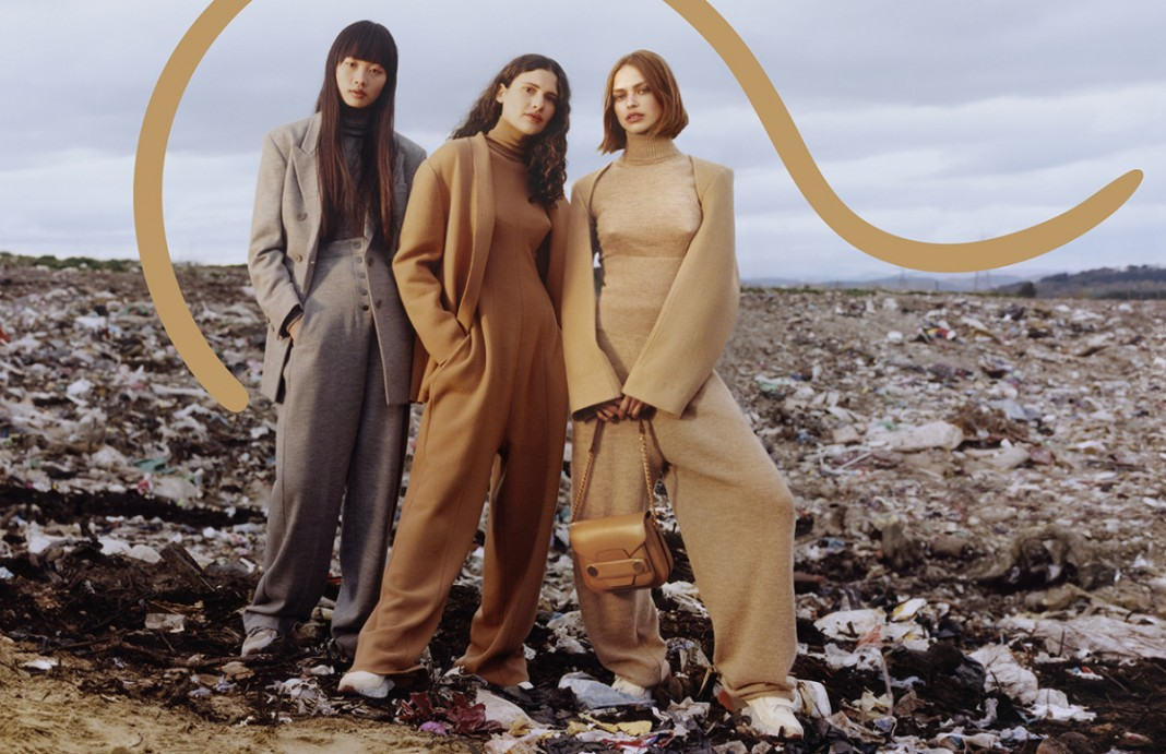 Stella McCartney's Latest Campaign Was Shot In a Landfill