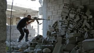 Syria army announces halt in fighting in parts of Eastern Ghouta
