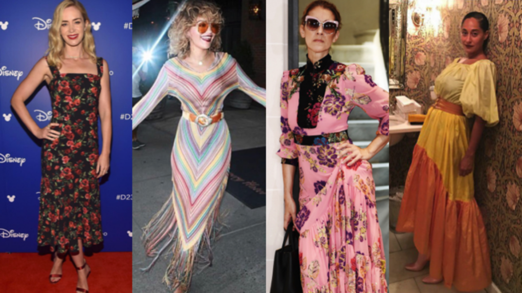 This Week's Best-Dressed Celebrities Covered Up in Ankle-Grazing Frocks