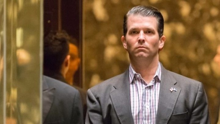 Trump 'didn't know about son's Russia meeting'