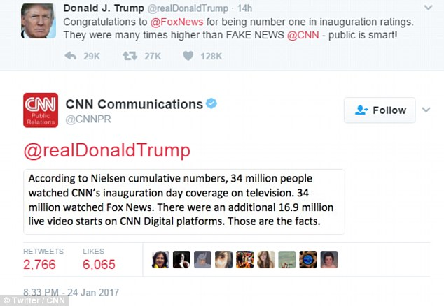 Cnn World News Twitter: Trump Tweets Video Of Him Knocking Down, Beating 'CNN