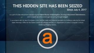 Two huge 'dark web' markets shut down