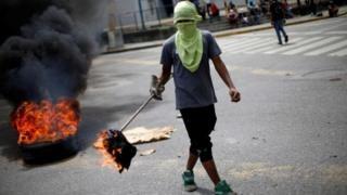 Venezuela crisis: Bans on protests that 'disturb' election