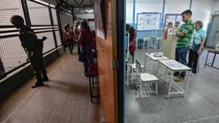 Venezuelan officials killed as voting starts