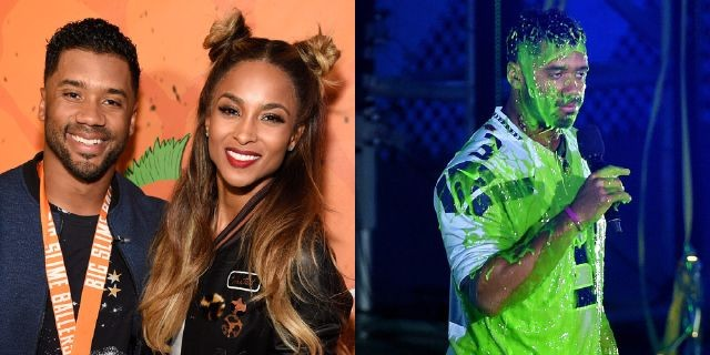 Watch Out, Michael Phelps! Russell Wilson Can't Wait to Slime You at the 2017 Kids' Choice Sports Awards