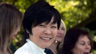 Why didn't Japan's First Lady speak to Trump?
