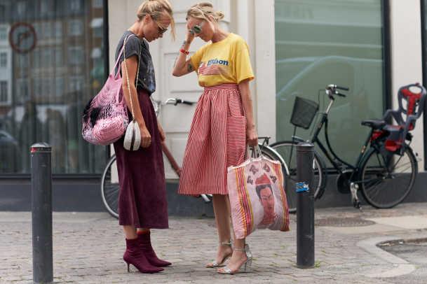 Head-to-Toe Prints Were Everywhere at Copenhagen Fashion Week