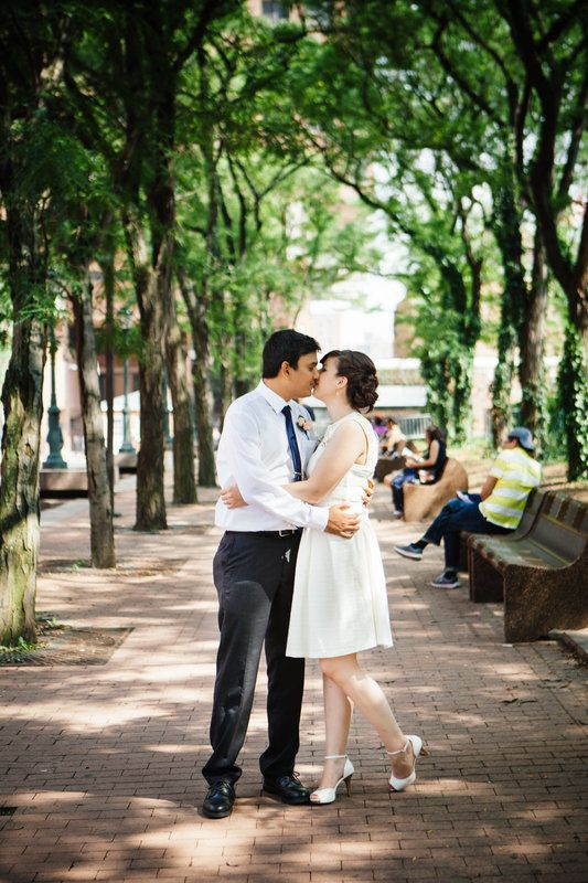 Modern + Romantic Elopement Inspiration in NYC