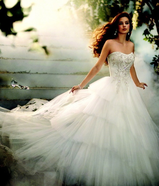 This Bride Is A Real Life Cinderella Beauty Wowplus Net