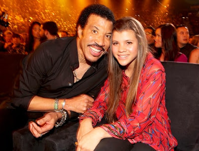 Lionel Richie says he's scared to death about his teen daughter's relationship with Scott Disick