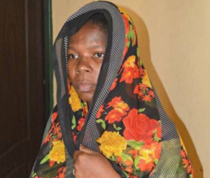 Photo: Kano police arrest woman who specializes in buying children for N20k