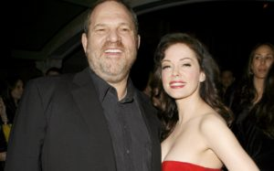 Rose McGowan says 'HW raped me' and claims Amazon executive knew as Myleene Klass says Harvey Weinstein offered her 'sex contract'