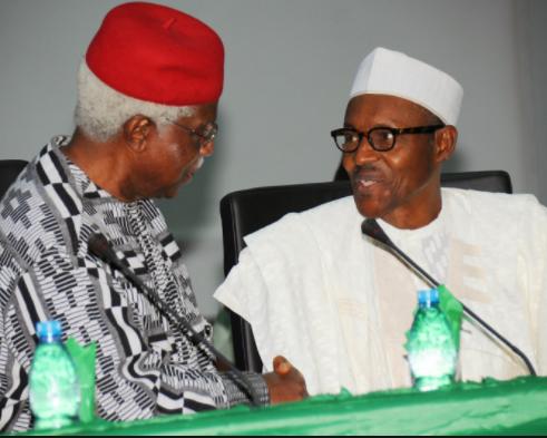 President Buhari approves the immediate treatment of Alex Ekwueme outside the country