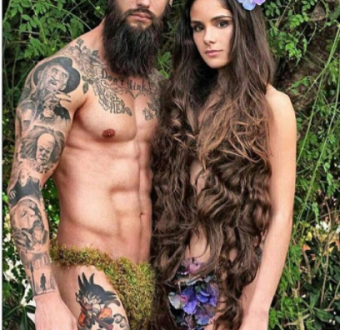 Check out this 'Adam' and 'Eve' inspired phooshoot