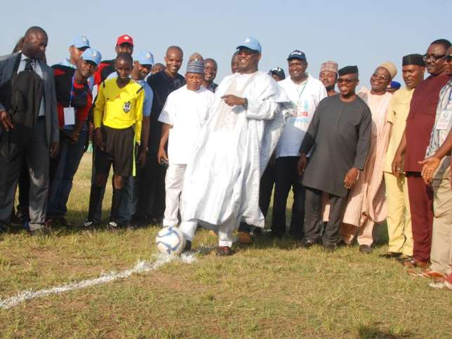 APC Party organizes football tournament for youths