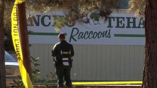 dead after California shootings; gunman tried to enter school