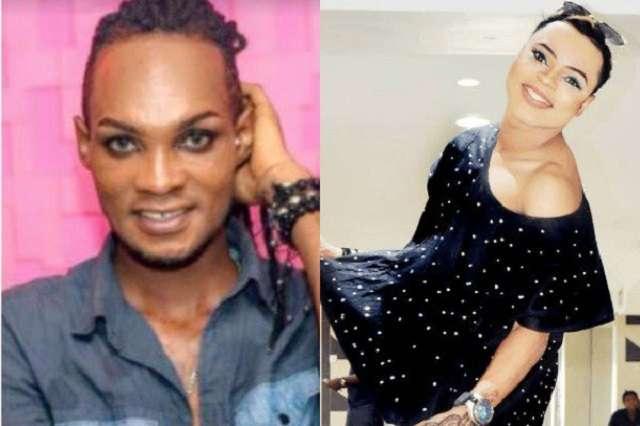Ghanaian gay man Bobrisky attacks Nigerian Male-Barbie