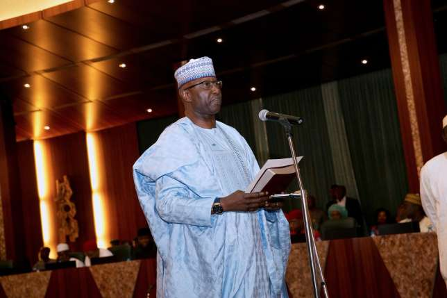 """Mustapha """"Simply address me as SGF please"""", says Boss"""