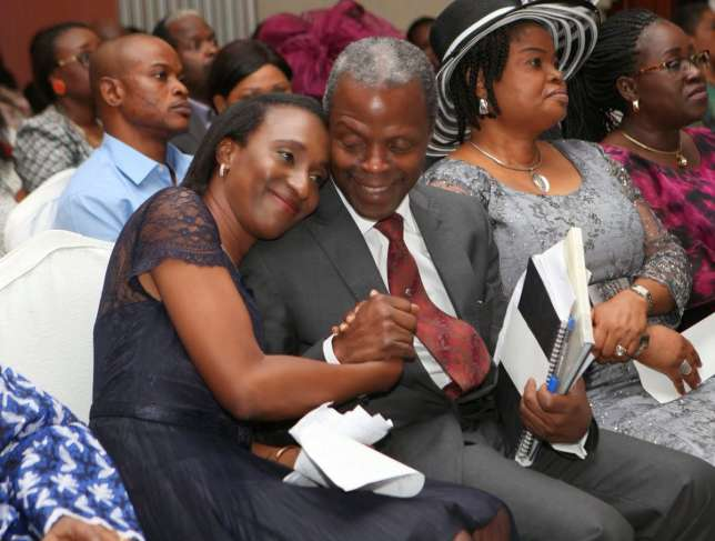 Osinbajo Your heart is my home - VP tells wife on 28th wedding anniversary