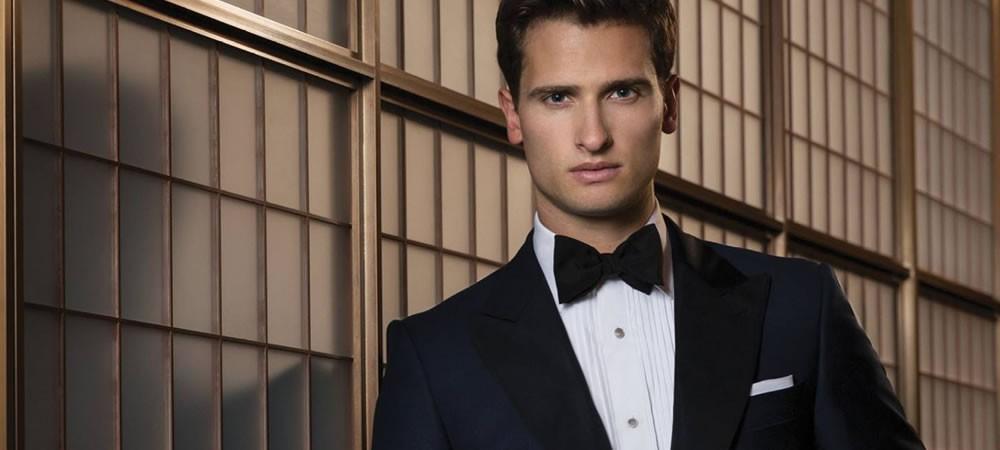 How men should dress for a black tie