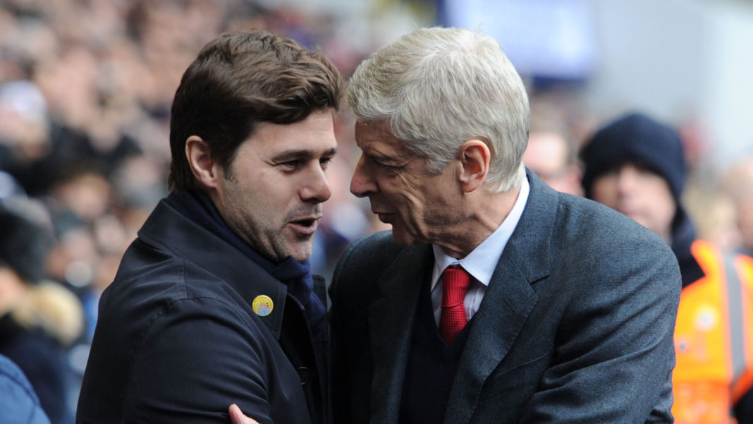 Spurs boss Mauricio Pochettino hails Arsene Wenger's longevity