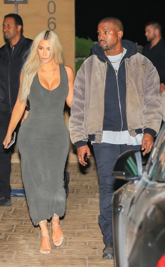 Kim Kardashian and Kanye West Enjoy Date Night Before Baby No. 3's Arrival