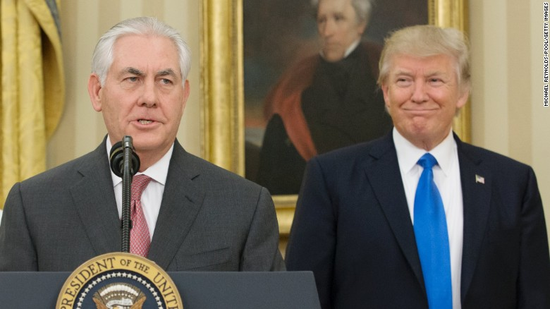 Source: White House wanted to publicly shame Tillerson
