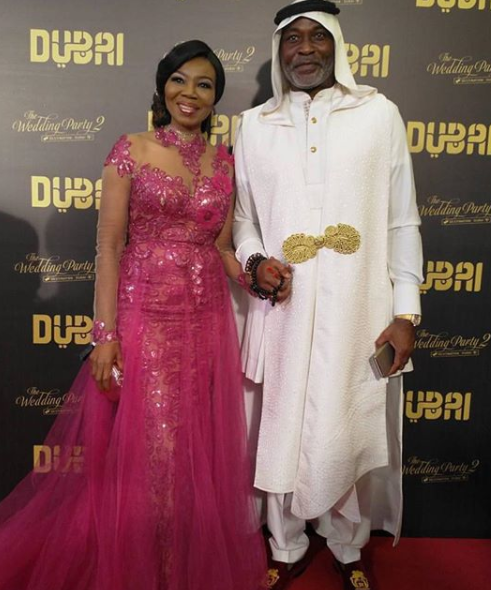 photos! Mo Abudu, Banky W, RMD, Patience Ozokwor, Lai Mohammed, Adesua, Betty Irabor, Iretiola Doyle, others at the premiere of Wedding Party 2