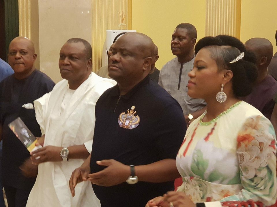 Photos from Rivers state governor, Nyesom Wike's 50th birthday thanksgiving service