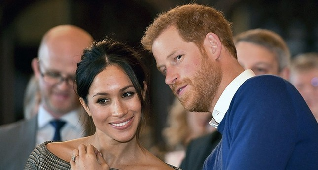 Letter containing white powder and a racist message sent to Prince Harry and his fiancee Meghan Markle
