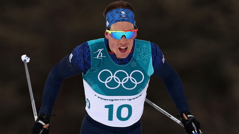 Andrew Musgrave seventh in skiathlon at the Winter Olympics in Pyeongchang