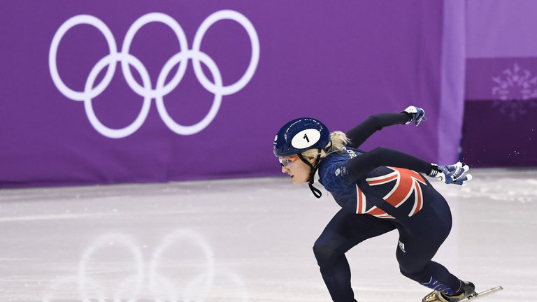 Elise Christie to undergo fitness test to decide Winter Olympic fate