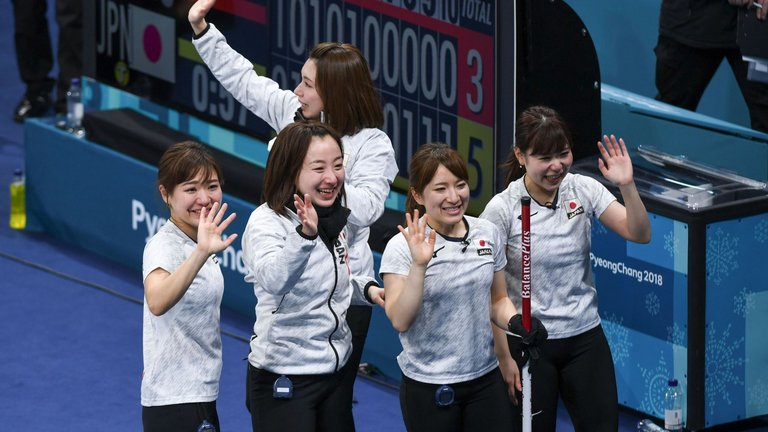 Great Britain beaten 5-3 by Japan in hard-fought curling bronze medal contest