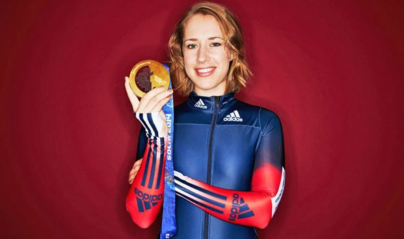 Olympic champion Lizzy Yarnold grateful for National Lottery funding