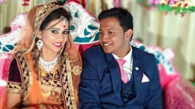 Who sent the wedding gift bomb that killed this newlywed?