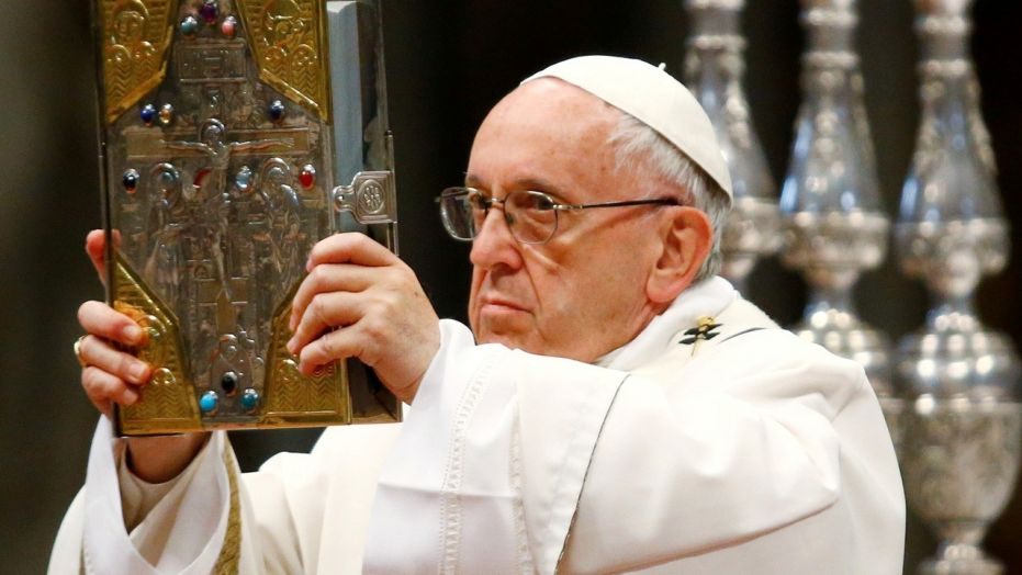 Vatican tamps down report that Pope Francis denies existence of hell