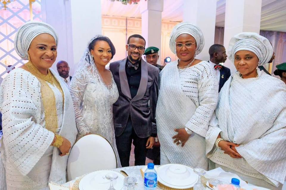 Photos: Osinbajo, Aisha Buhari, Tinubu, Nnamani, others attend the wedding of Kano state governor's daughter to Oyo state governor's son in Ibadan