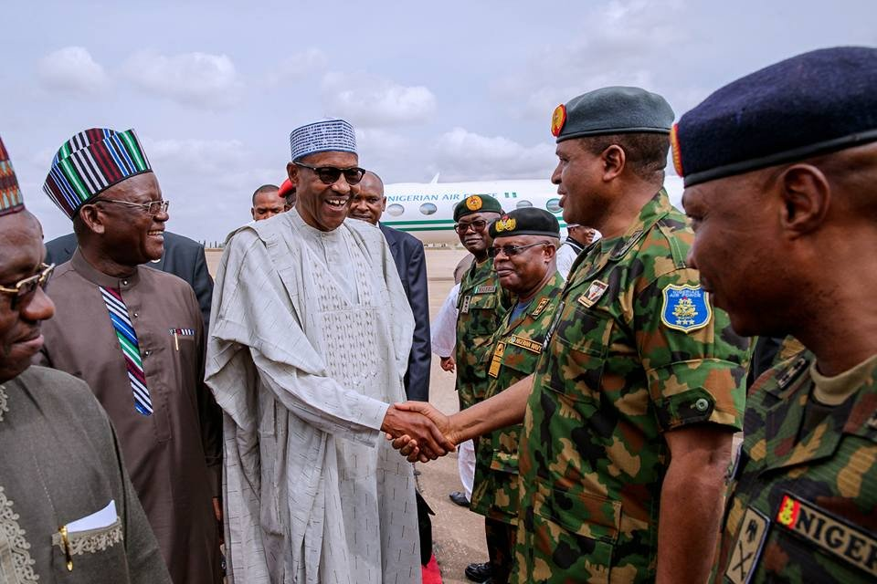 Please convince your people that we are doing our best to solve the attacks by armed herdsmen - President Buhari tells Benue State stakeholders