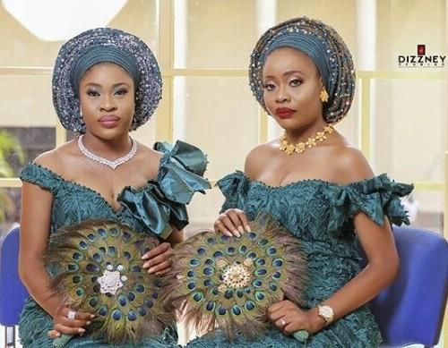 Photos: Beautiful twin sisters wed same day in Calabar