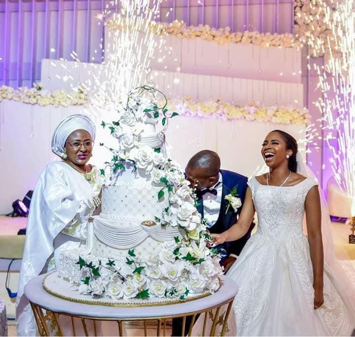 More beautiful photos from the wedding of Oludamilola Osinbajo to Seun Bakare